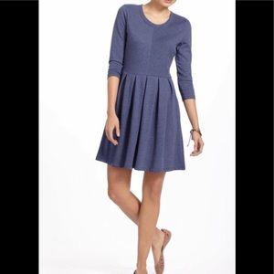 Anthropologie Puella dress M heathered blue
